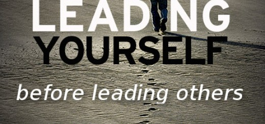 leading yourself to lead others