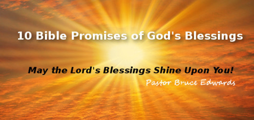 God's blessings by pastor bruce edwards