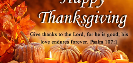 giving thanks - by Pastor Bruce Edwards