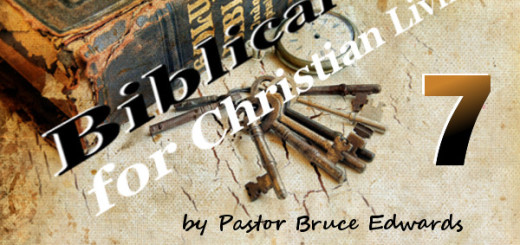 Being prayerful by Pastor Bruce Edwards