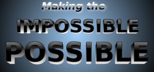 Making the impossible possible by Pastor Bruce Edwards