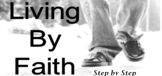 Living by faith by Pastor Bruce Edwards