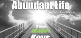 abundant life by pastor bruce edwards