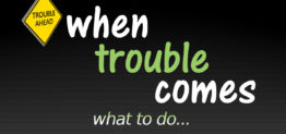 when trouble comes by Pastor Bruce Edwards