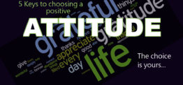 choose a positive attitude by Pastor Bruce Edwards
