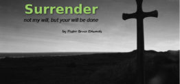 surrender by pastor bruce edwards