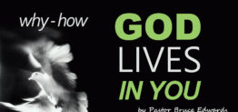 god lives in you by Pastor Bruce Edwards
